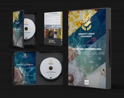 OPGYH Szeretet Lángja Gyülekezet Egyesület DVD borító cover design